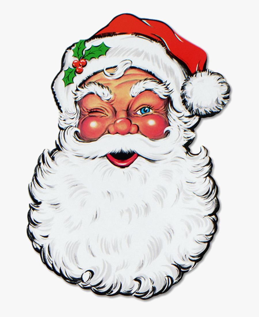 Christmas Santa Face Png Free Download.