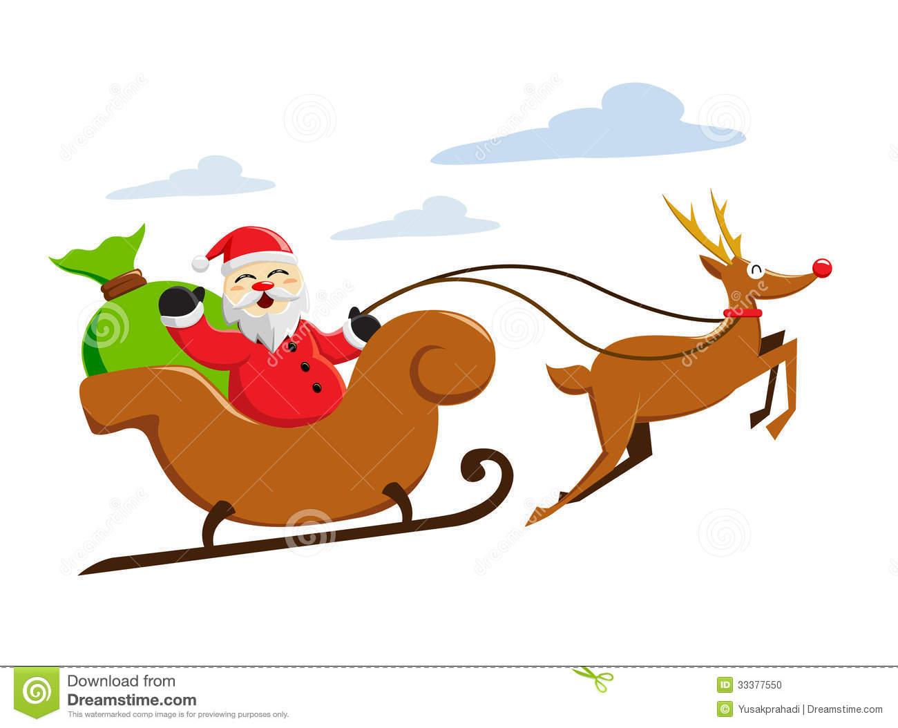 Watch more like Cartoon Santa Sled.