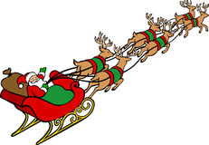 Santa Sleigh Stock Photos, Images, & Pictures.