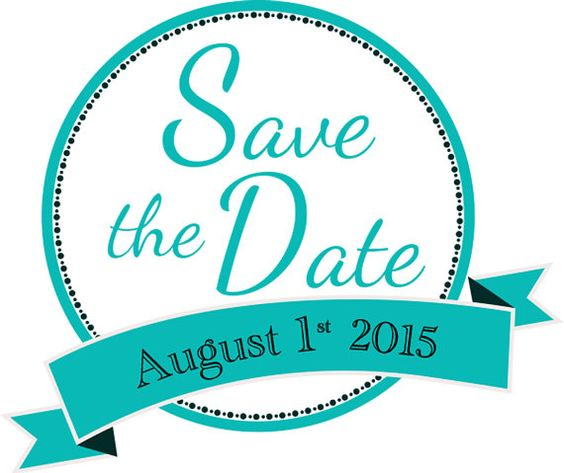 631 Save The Date free clipart.