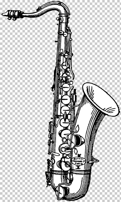 Tenor saxophone , Saxophone Transparent s PNG clipart.