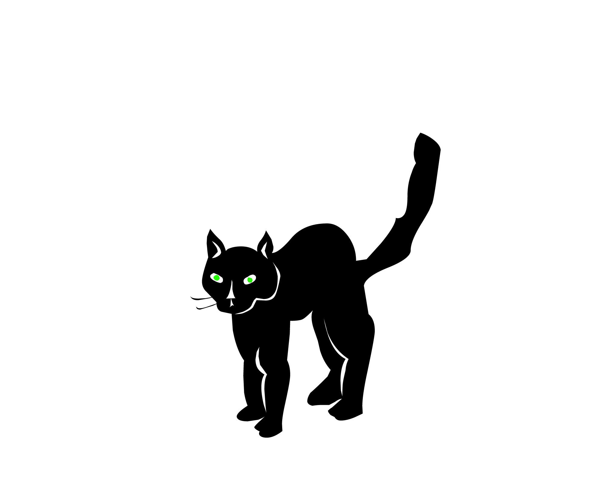 Glowing Cat Eyes Scary Creepy.