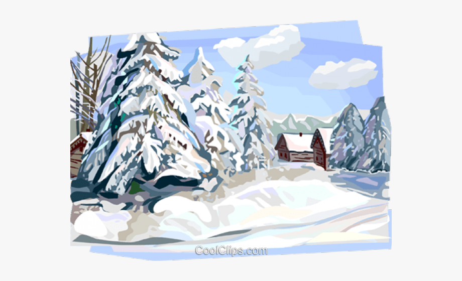 Free Clipart Winter Scenery, Cliparts & Cartoons.
