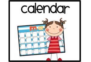 Free Calendar Clipart For Teachers.