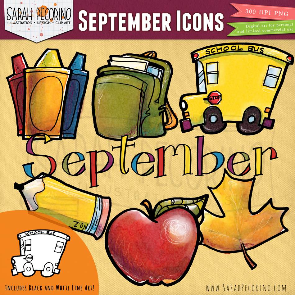 Free clipart school calender images.