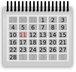 School calendar clip art clipart clipartix.
