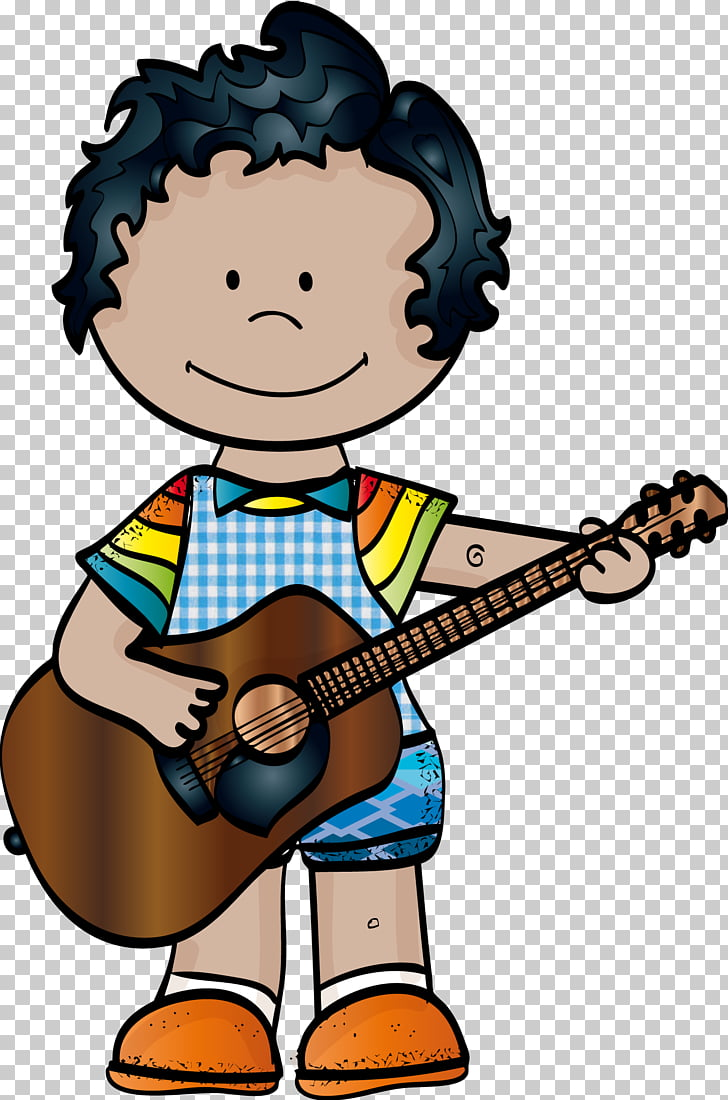 Musical Instruments Drawing , school kids PNG clipart.