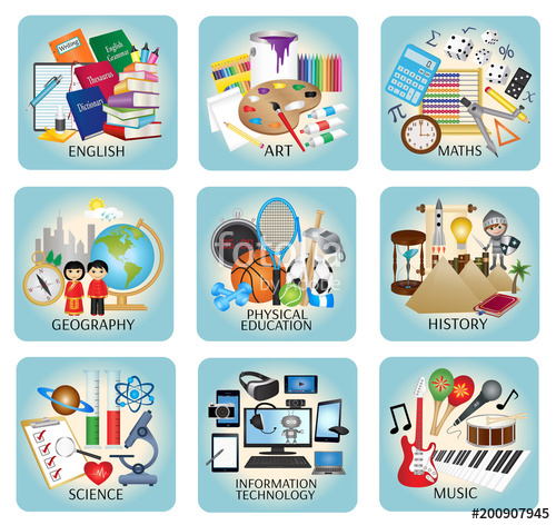 Education icons vector.