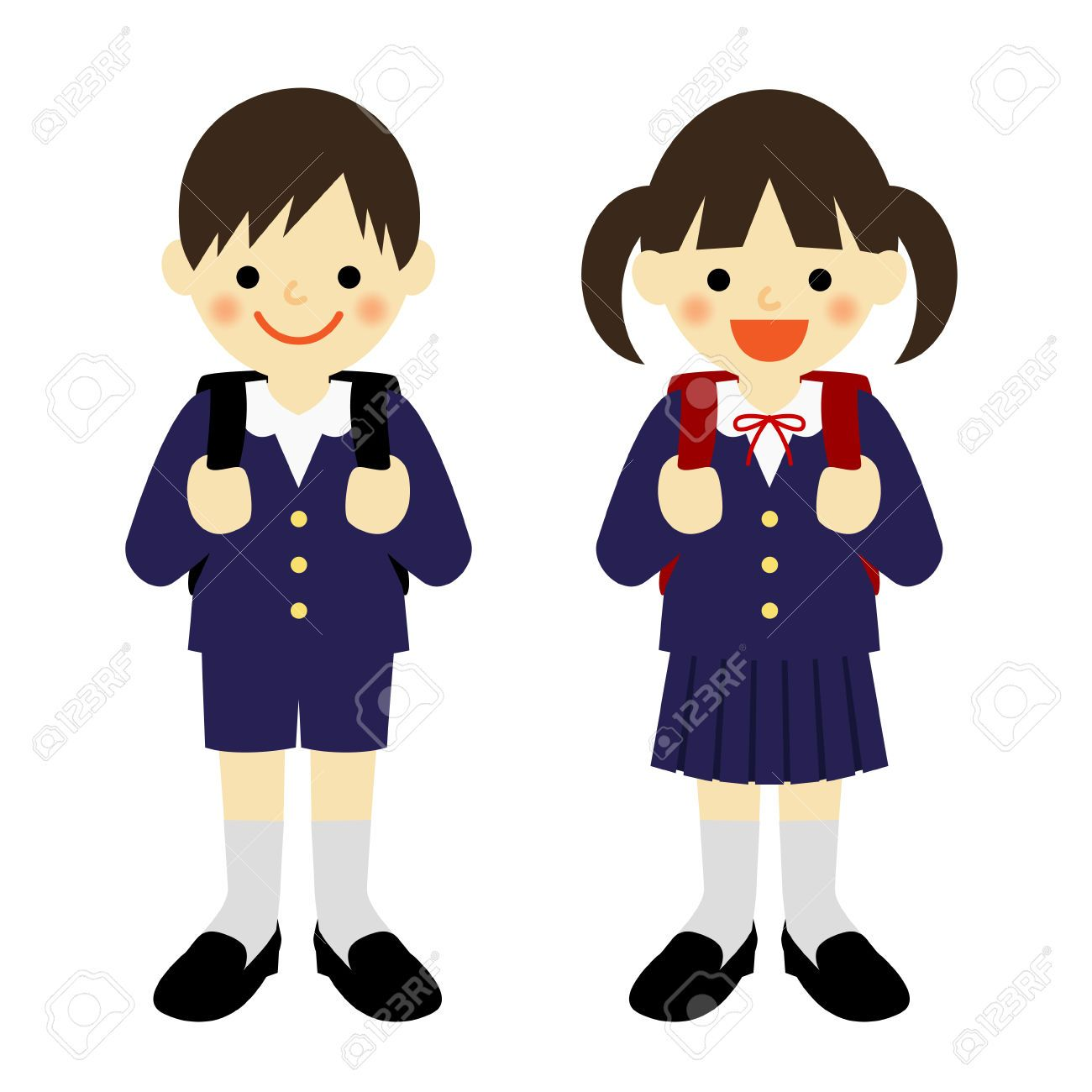 Free clipart school uniform 7 » Clipart Portal.