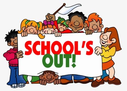 Free Schools Out Clip Art with No Background.