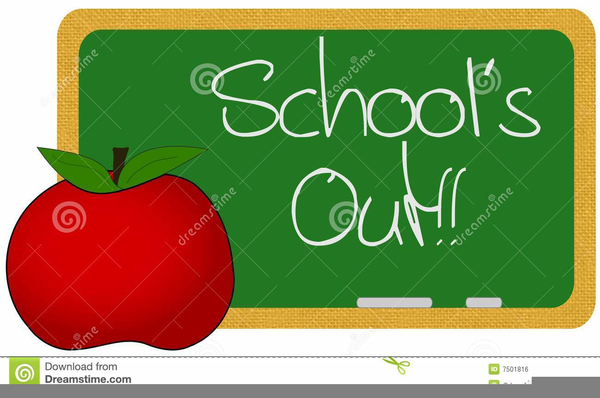 Free Clipart School Out Summer.