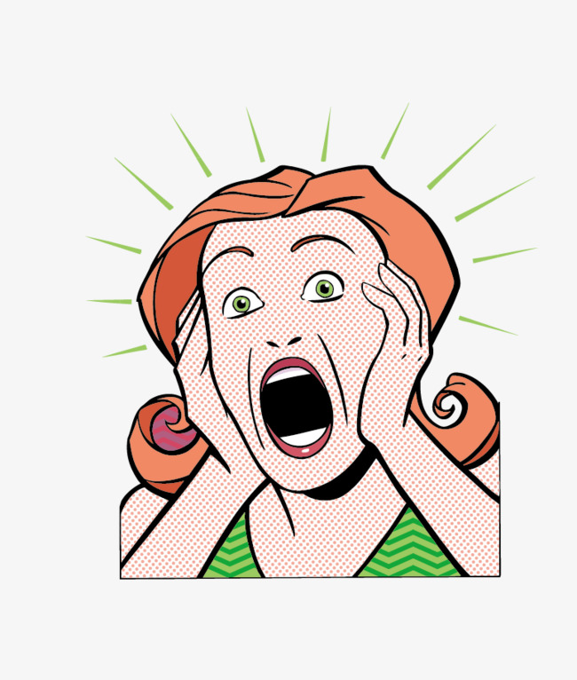 Free clipart screaming woman 8 » Clipart Station.