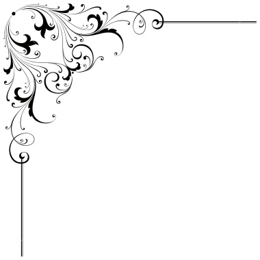 Corner scroll design free clipart images 2.