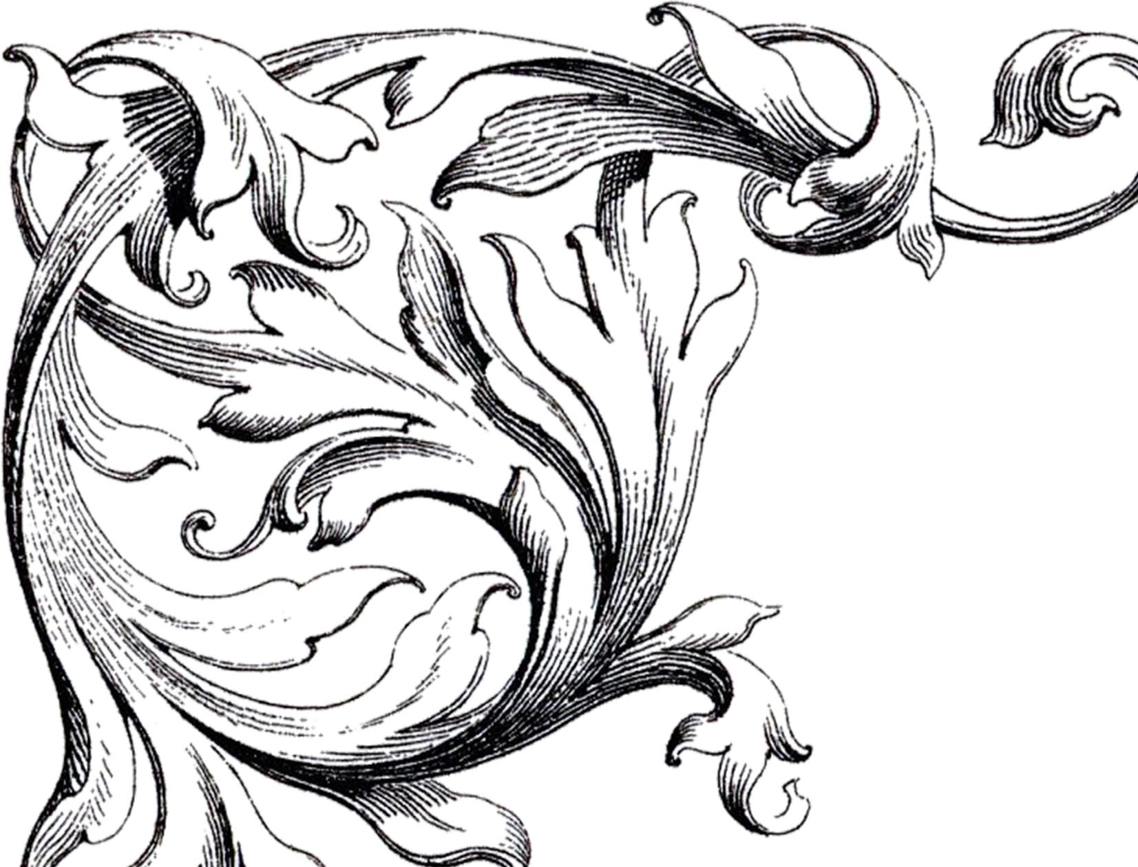 Free Wedding Clip Art Scrolls.