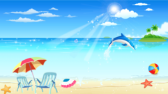 Free Seaside Resort Clipart and Vector Graphics.