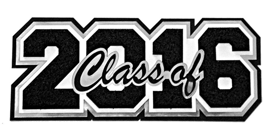 Free Black And White Clipart For Senior High School Recognition.