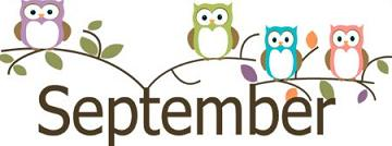 September Clipart Free.