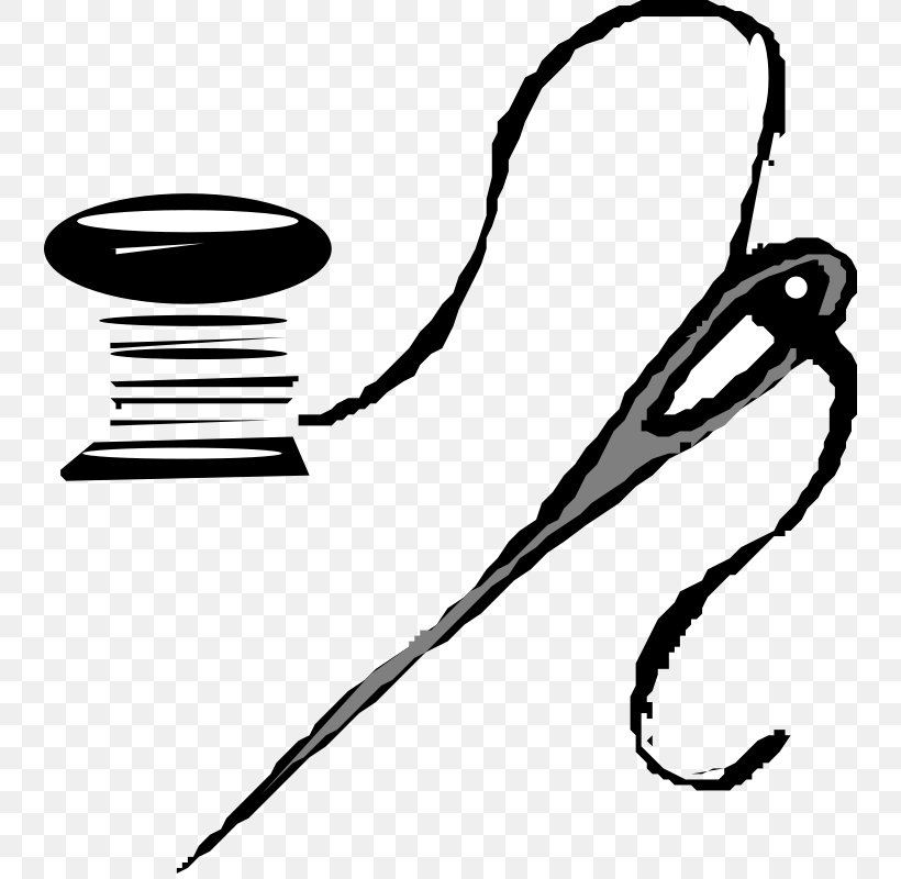 Sewing Needle Thread Yarn Clip Art, PNG, 740x800px, Sewing.
