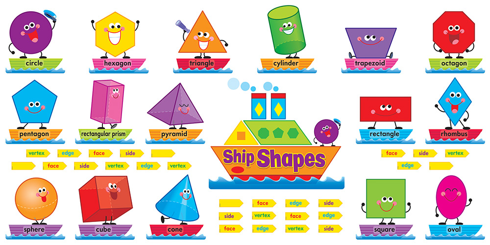 4596 Shapes free clipart.
