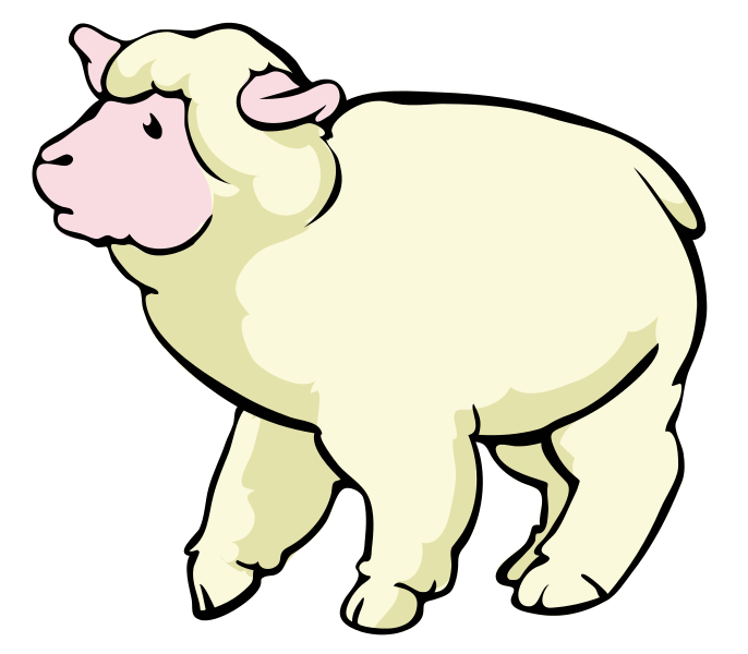 Free to Use & Public Domain Sheep Clip Art.