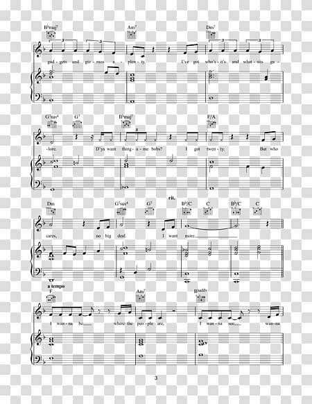 Sheet Music Music Chord Piano, free sheet music transparent.