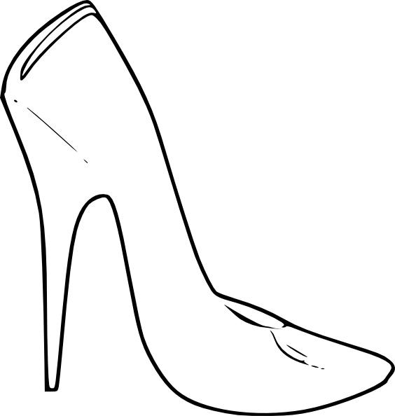 High Heel Shoes Women Fashion clip art Free vector in Open.