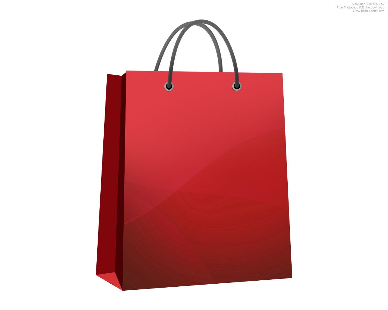651 Shopping Bag free clipart.