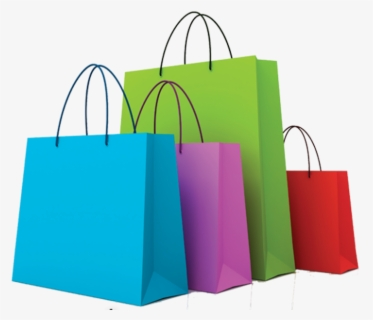 Free Shopping Bags Clip Art with No Background.