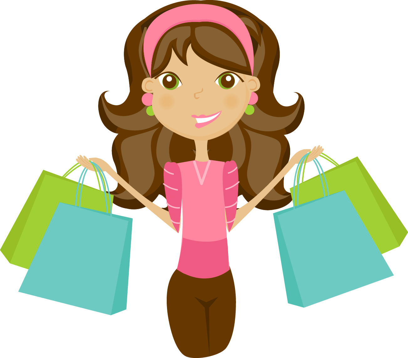 551 Shopping Bags free clipart.