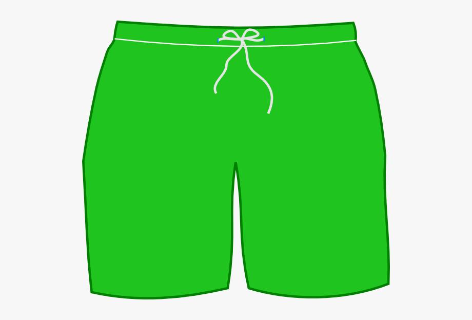 Green Shorts Clipart , Transparent Cartoon, Free Cliparts.