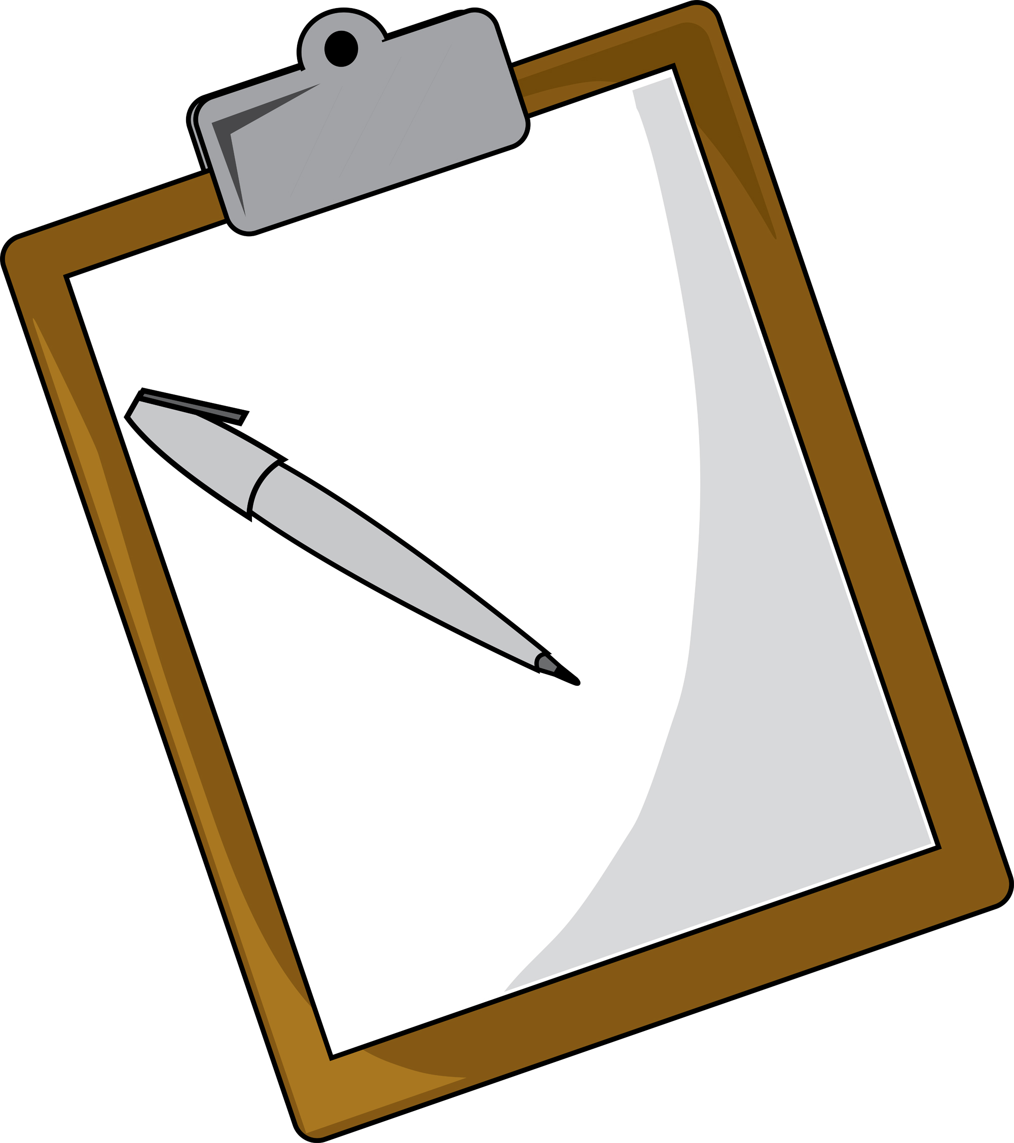 Sign In Sheet Clipart.