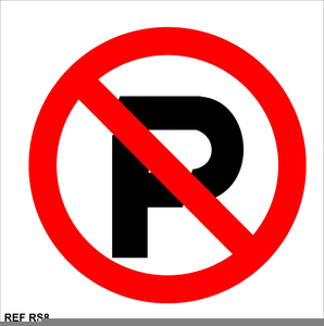 Free Clipart No Parking Signs.