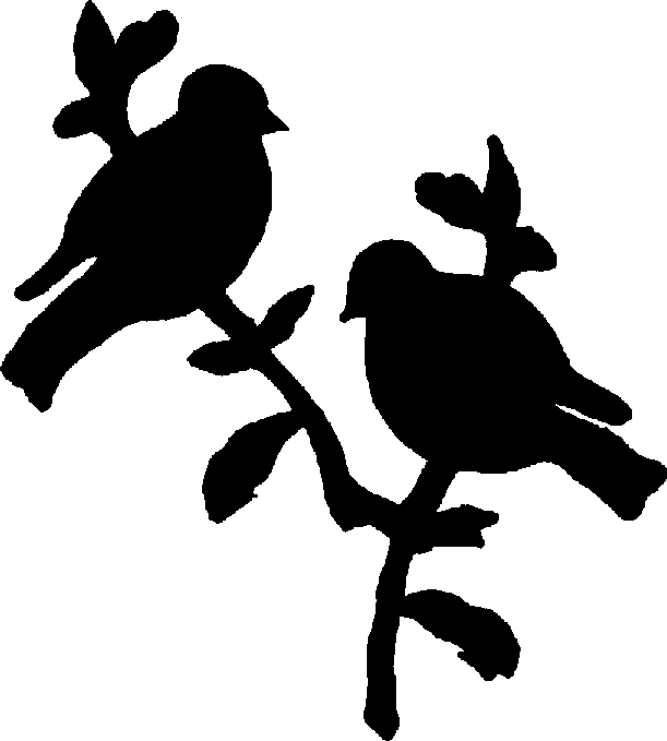 Bird Silhouette Art.