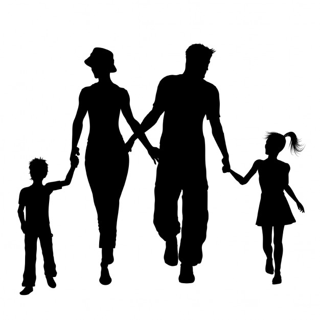 Family Silhouette Vectors, Photos and PSD files.
