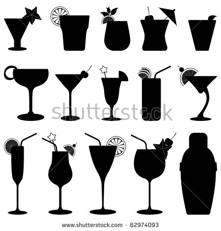 Cocktail Shaker Stock Images, Royalty.
