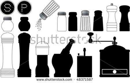 Salt And Pepper Mills Stock Photos, Royalty.