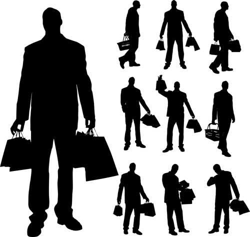 Man woman silhouette clip art free vector download (211,019 Free.
