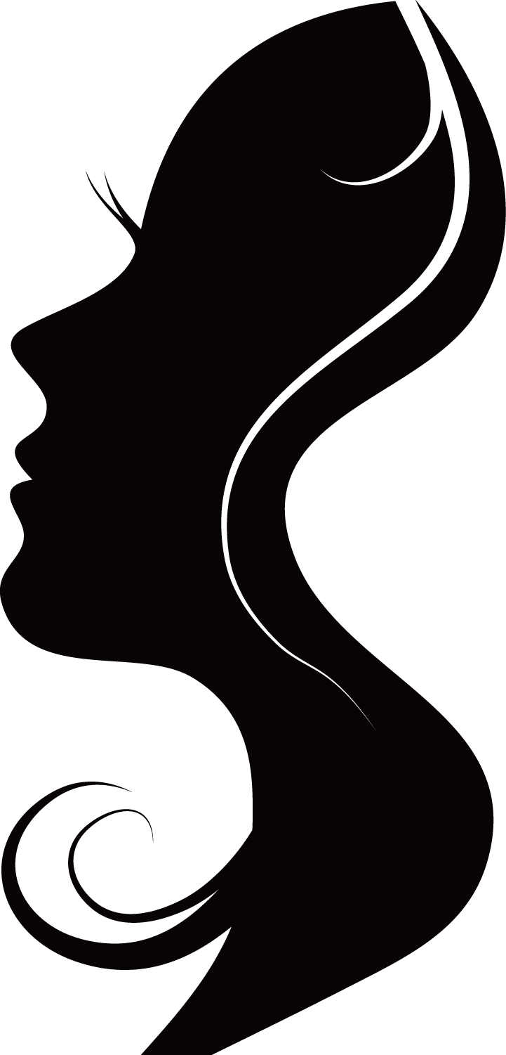 Download Silhouettes Woman Silhouette Free Frame Clipart PNG Free.