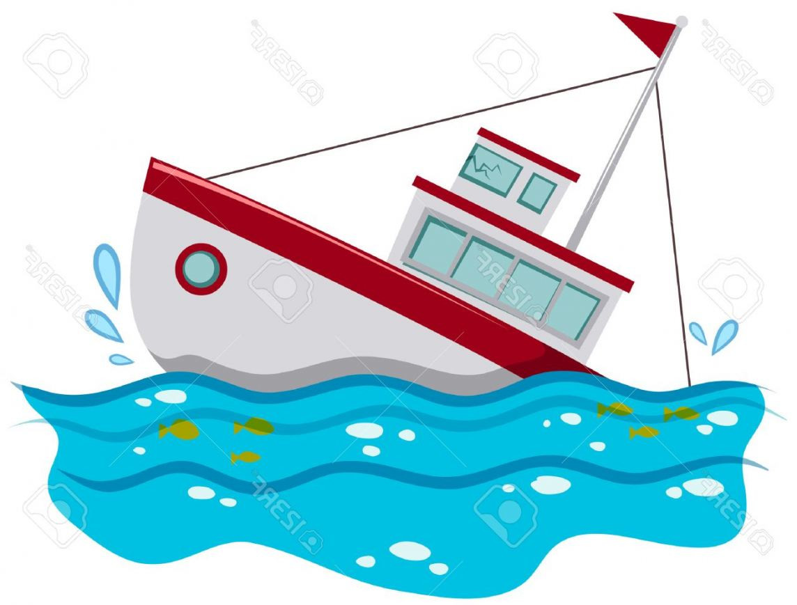 Sinking Ship Clipart.