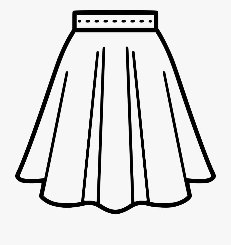 Transparent Skirt Png.