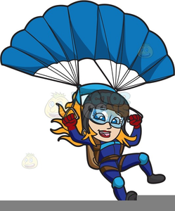 Free Skydiving Clipart.