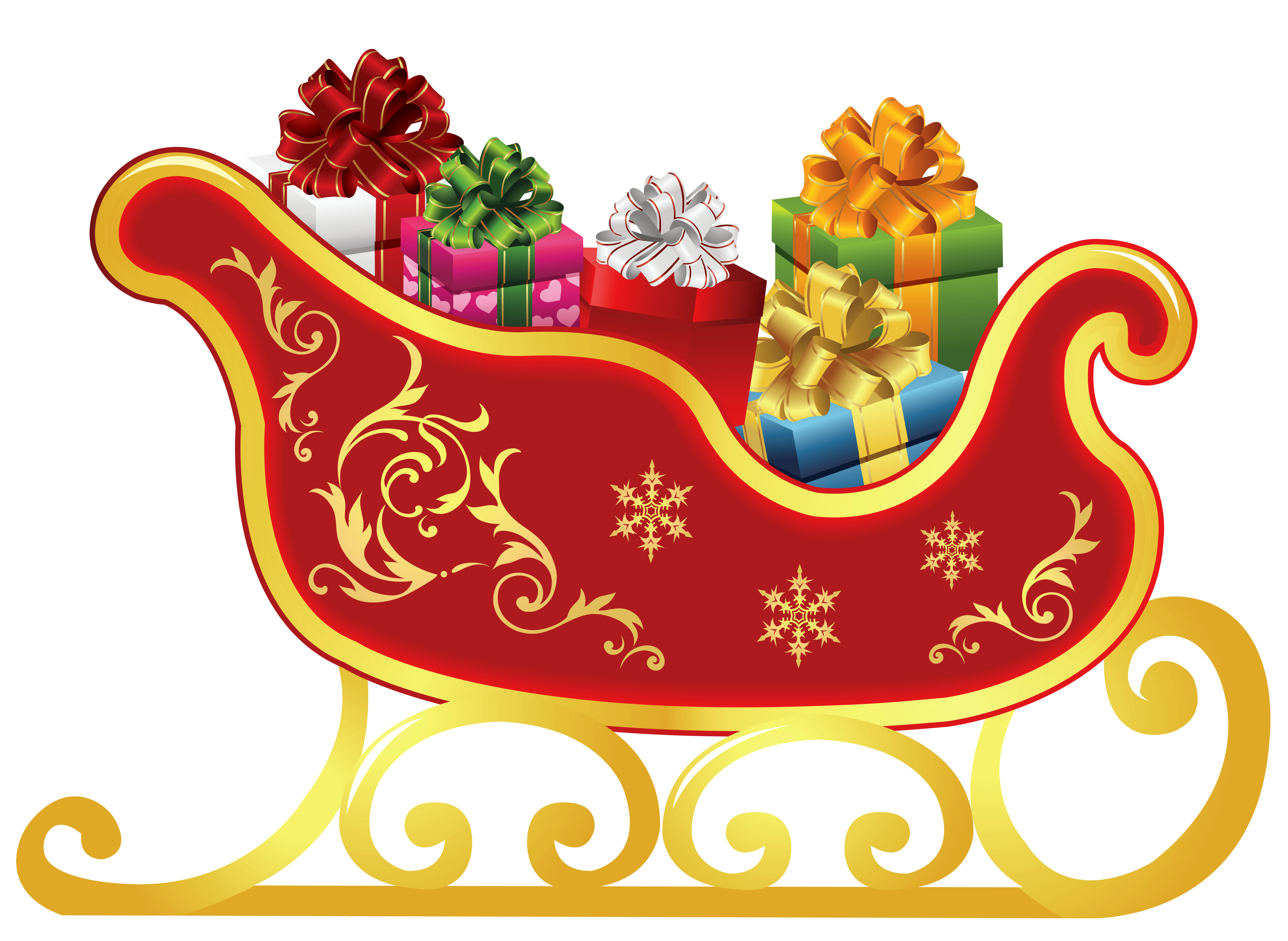 Free Sleigh Cliparts, Download Free Clip Art, Free Clip Art.
