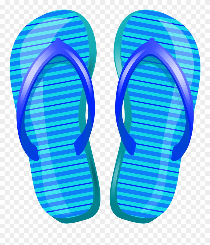 Jpg Library Beach Slippers Clip Art Free Download Library.