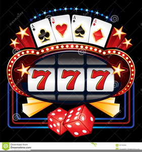 Free Clipart Slot Machine.