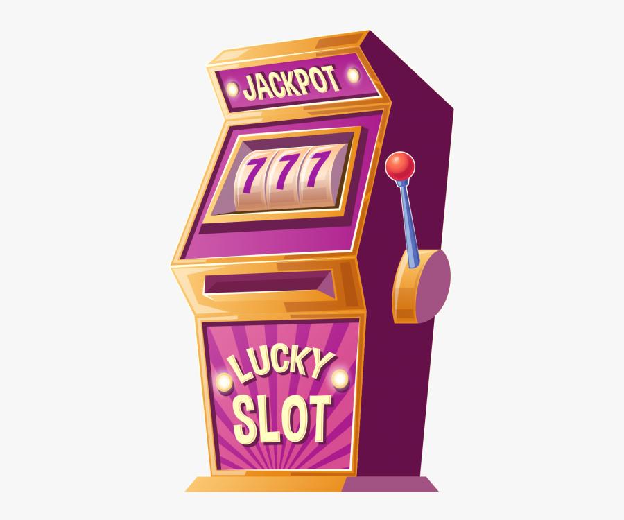 Jackpot Slot Machine Png.
