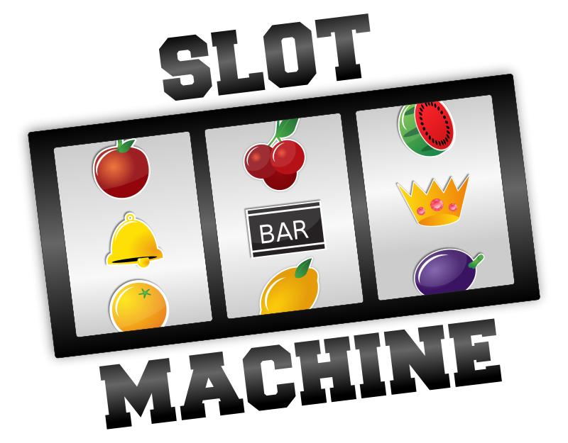 Free Clipart: Slot Machine.