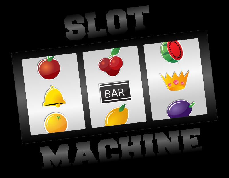 Free Clipart: Slot Machine.