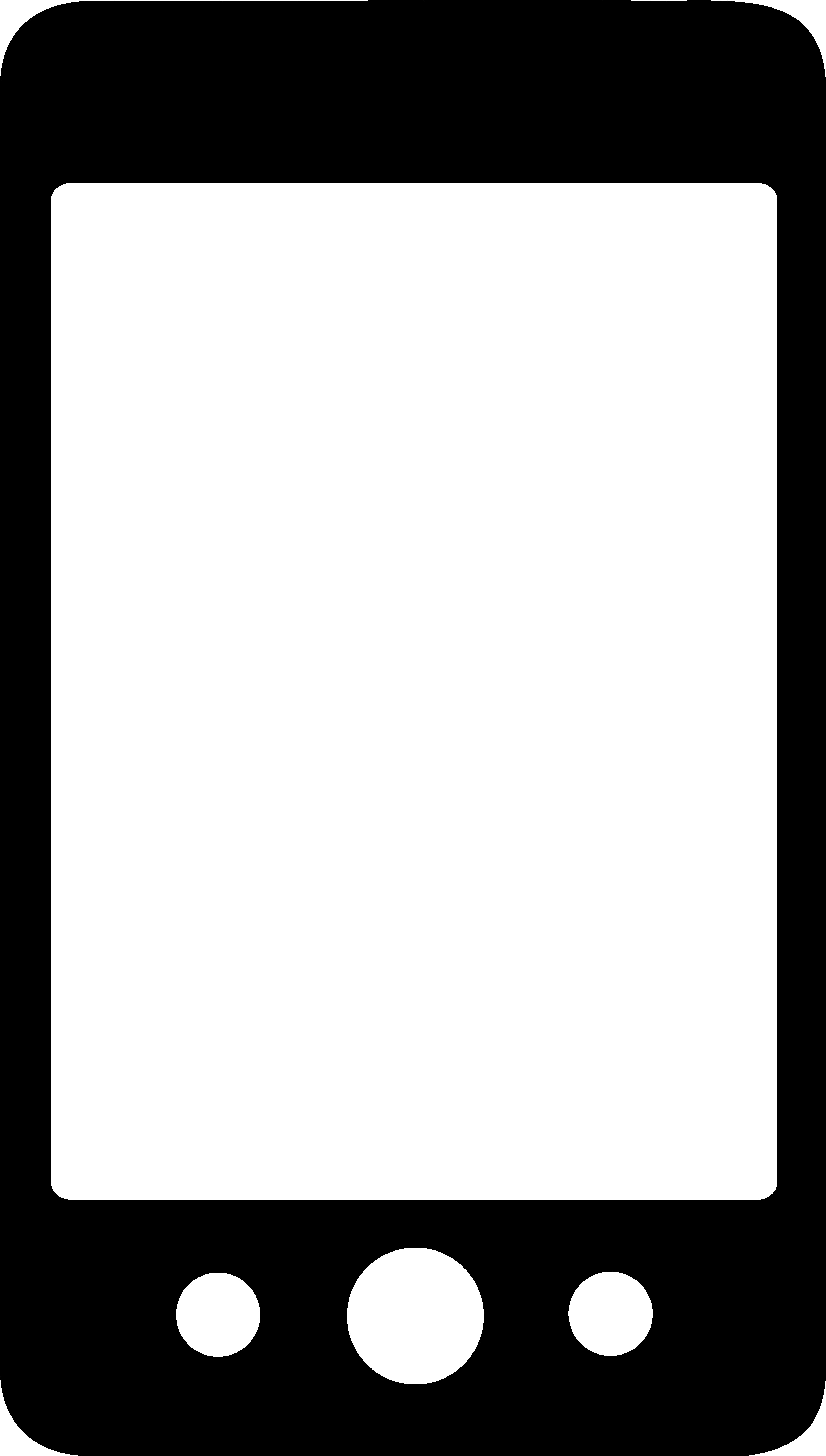1062 Smartphone free clipart.
