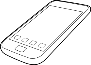 Smartphone By Ocal Clip Art at Clker.com.