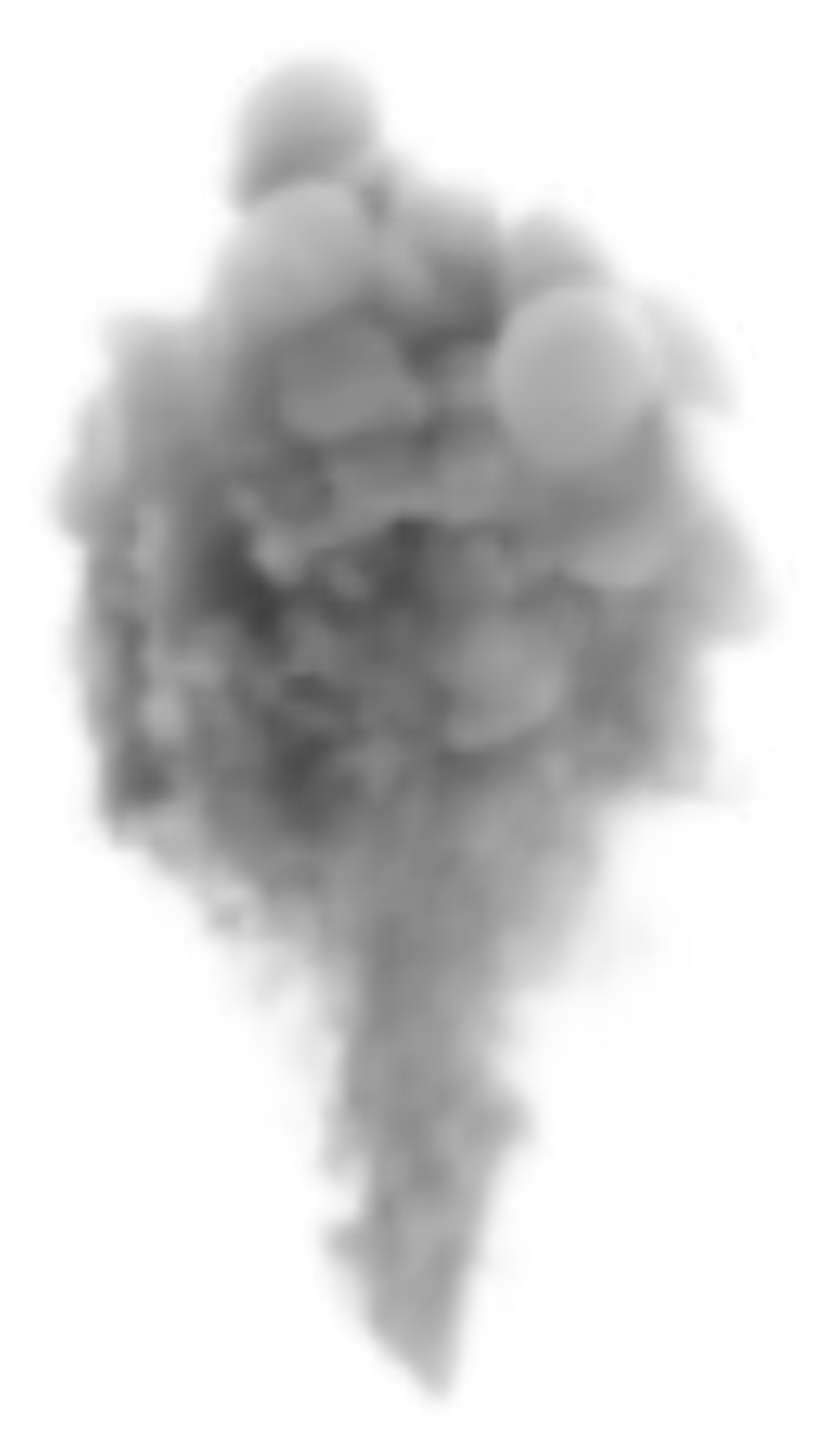 Large Smoke PNG Clipart Image.